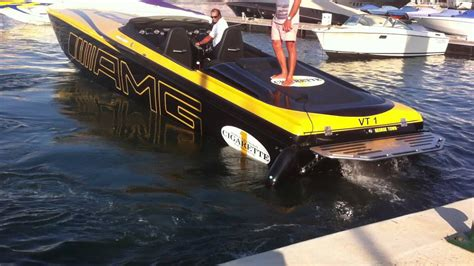 Amg Cigarette Boat Video by Cigarette 50 Marauder Amg Youtube