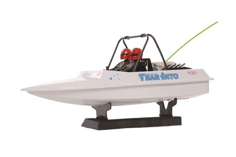 Rc Jet Boat Tear Into rc radio controlled tear into jet boat 6024 1 25 ebay