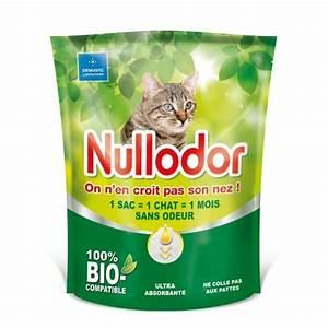 Litiere Chat Sans Odeur : liti re nullodor liti re silice pour chat wanimo ~ Premium-room.com Idées de Décoration