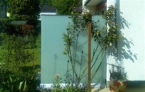 Garten Wind Und Sichtschutz by Wind Sichtschutz Perviento Glasprofi24