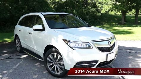 2014 Mdx Review by 2014 Mdx Test Drive Review