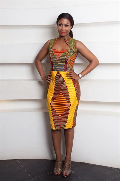 tenue africaine femme la robe africaine chic opter pour la tendance chic