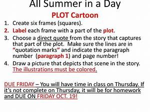 50  News Plot Diagram For All Summer In A Day