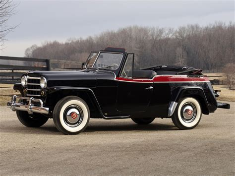 1948 willys jeepster willys overland jeepster phaeton vj 39 1950