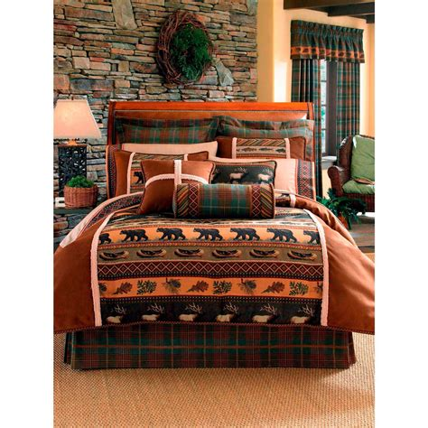 croscill caribou 4 pc comforter set bedding collections