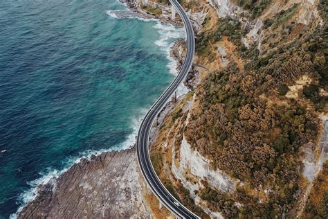 Sea Cliff Bridge Australia Dronestagram