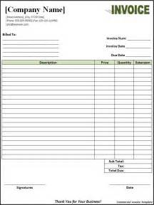 Creating An Excel Template An Invoice Template Invitation Template