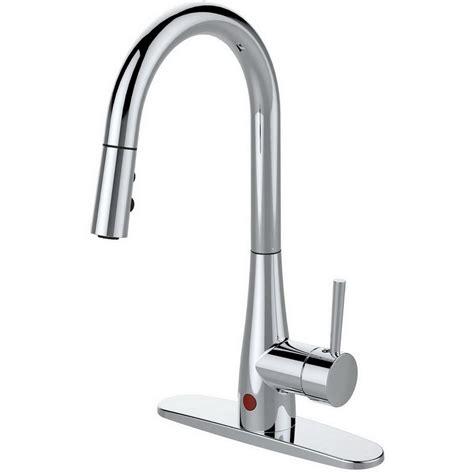 sprayer kitchen faucet delta trinsic single handle pull sprayer kitchen