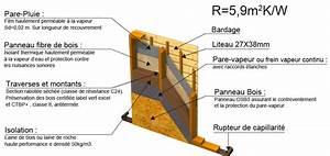 Epaisseur Mur Ossature Bois : ossature bois 145 mm ~ Melissatoandfro.com Idées de Décoration