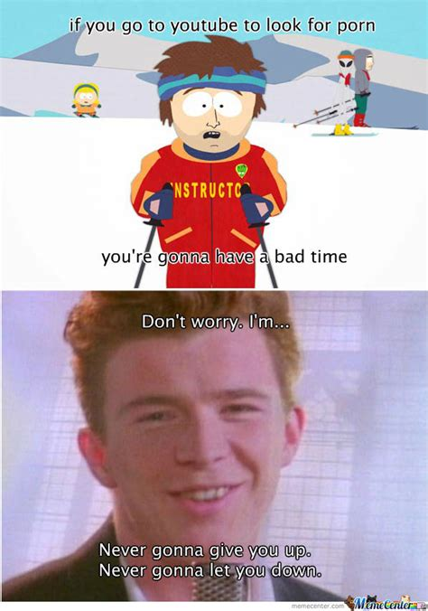 Rick Roll Meme - you just got rick rolled by indio meme center