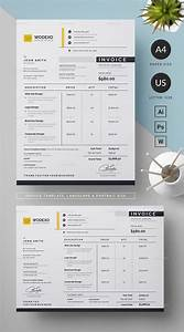 Modern Invoice Template Designs For Business In 2020
