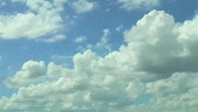 Clouds Cumulus Gifs Animated Sky Copy Types