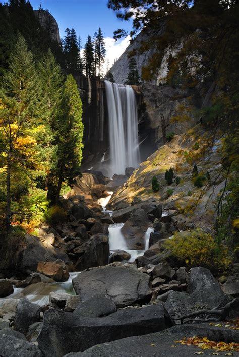 Vernal Fall Yosemite National Park Want
