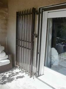 Grilles fer forge lourdes de securite aix en provence for Porte de garage coulissante jumelé avec devis porte blindée appartement