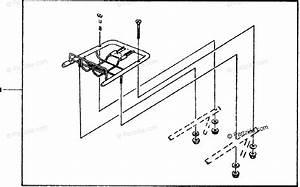 Honda Motorcycle 1981 Oem Parts Diagram For Travel Trunk Mount