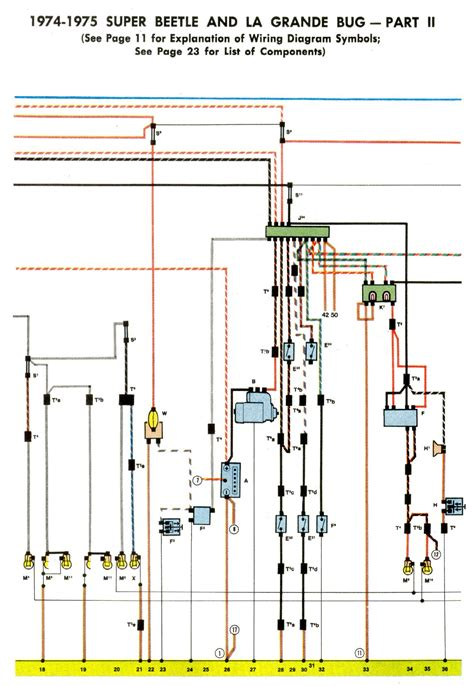 Bug Fuel Injected Easy Read Wire Diagram