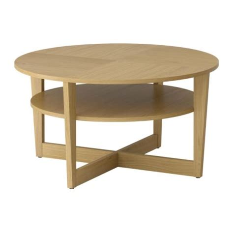 fjällbo coffee table ikea vejmon coffee table oak veneer 90 cm ikea