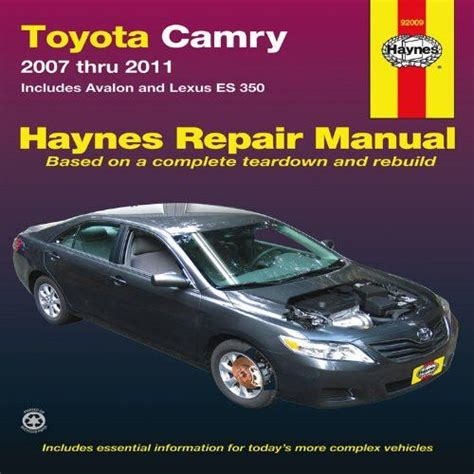 hayes car manuals 2011 toyota corolla parental controls best 20 camry 2007 ideas on 2007 camry 2011 toyota camry and toyota camry