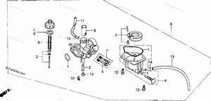 Honda Motorcycle 1995 Oem Parts Diagram For Carburetor