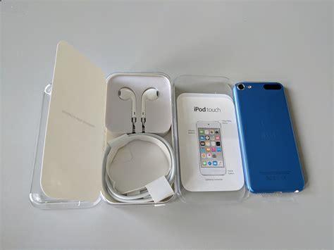 sony 32gb usb 3 0 mint in box apple ipod touch 6th generation 32gb blue