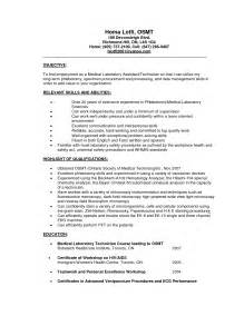 assistantphlebotomist resume sles sleep technician cover letter laboratory assistant cover letter professional props and lighting