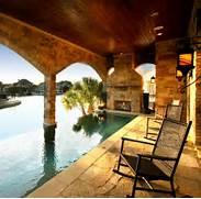 Patio Home Designs Texas by Lake House Applehead Island Horseshoe Bay Texas Traditional Pool Austi