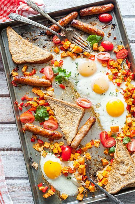 easiest sheet pan breakfast imagelicious