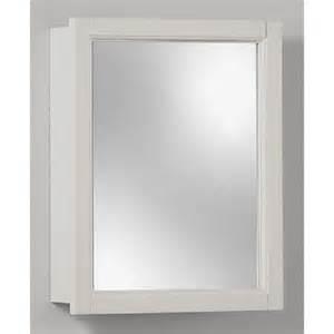 white surface mount medicine cabinet mirror bathroom decor