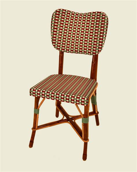 chaise en rotin but chaise bistrot rotin