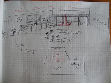 plan cuisine 9m2 cuisine 9m2 plan