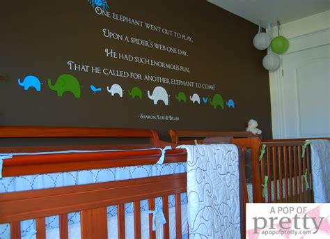 boy nursery decor custom wall quote a pop of