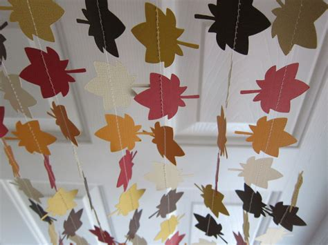 fall garland ideas fall garland leave garland autumn decorations thanksgiving