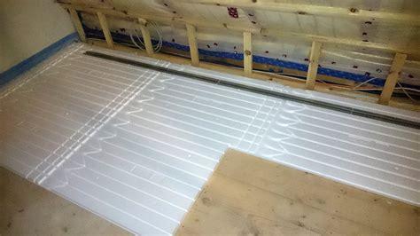 Fußbodenheizung Trockensystem Kosten fu 223 bodenheizung trockenbau kosten aufbau verlegen so