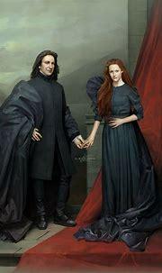 Snape and Lily 💚   Harry potter severus, Harry potter ...