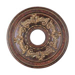 shop livex lighting verona bronze ceiling medallion at