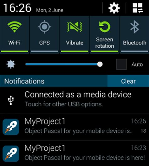 center android mobile tutorial using notifications ios and android