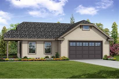 Garage Plans Plan Traditional Floor Country Layout