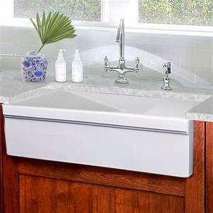 cape collection 36quot wide italian farmhouse fireclay With 36 porcelain farmhouse sink