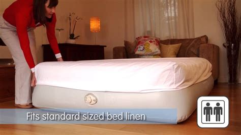 aerobed 174 comfort classic raised double inflatable airbed