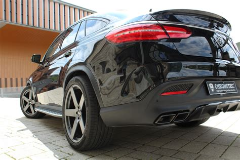 mercedes gle  coupe tuned  chrometec   ps
