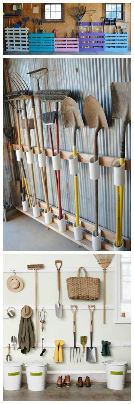 Garage Storage Ideas Garden Tools by Best 25 Garden Tool Storage Ideas On Garden