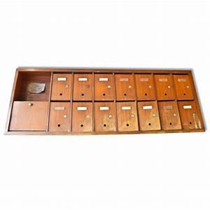 Boite Aux Lettres Vintage : meuble bloc boite aux lettres d 39 immeuble mes petites puces ~ Teatrodelosmanantiales.com Idées de Décoration
