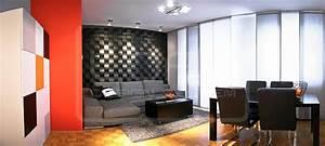 Wohnzimmer Wandgestaltung Bilder Ideen COUCHstyle