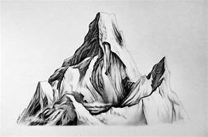 Mountain Drawing Study by LethalChris on DeviantArt