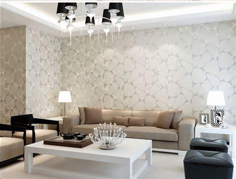 meriahkan interior  wallpaper ruang tamu minimalis