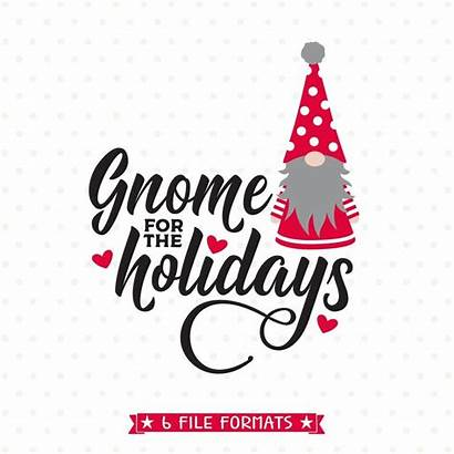 Clip Holidays Gnome Svg Clipart Sublimation Holiday