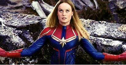 Larson Brie Behind Avengers Scenes Endgame Gifs