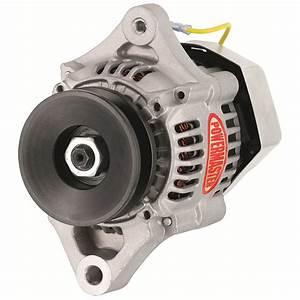 Powermaster  Denso 1-wire Race Alternator  55 Amp  Natural