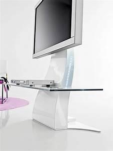 Meuble Pour Téléphone : meuble d 39 angle tv de style contemporain et moderne ~ Teatrodelosmanantiales.com Idées de Décoration