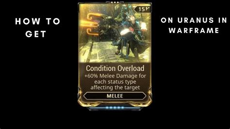 condition overload youtube